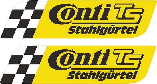 Picture of Continental TS Decals / Stickers