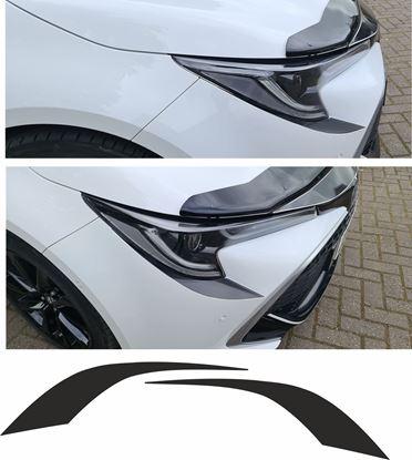 Picture of Toyota Corolla E210 MK12 Hatchback Headlight Bumper Vinyl overlay Decal