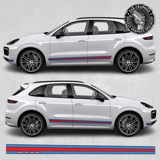 Picture of Cayenne Martini side Stripes