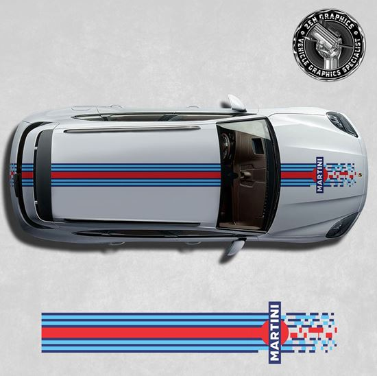 Picture of Cayenne Martini over the top Stripes