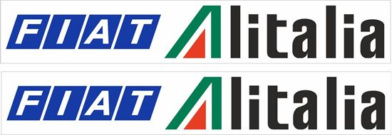 Picture of Fiat Alitalia 131 Rally Team Decals / Stickers
