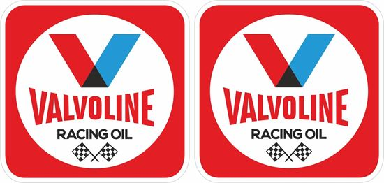 Picture of Valvoline Racing Oil Decals / Stickers