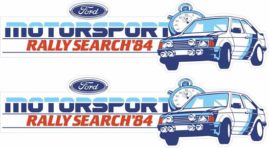 Picture of Rally Search 84 Decals / Stickers