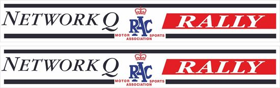 Picture of Network Q RAC Rally Decals / Stickers