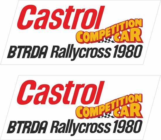 Picture of BTRDA Rallycross 1980 Decals / Stickers