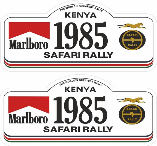 Picture of 1985 Safari Rally Decals / Stickers
