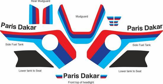 Picture of BMW R1100GS 1994-1999 Paris Dakar Decals / Stickers