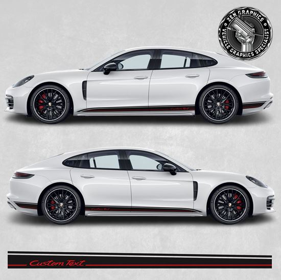 Picture of Panamera side Stripes