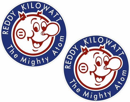Picture of Reddy Kilowatt Decals / Stickers
