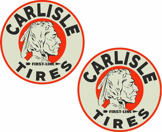 Picture of Carlisle Tires Decals / Stickers