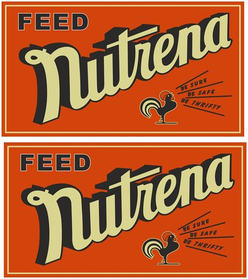 Picture of Nutrena Feed Decals / Stickers