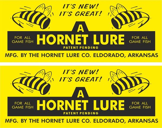Picture of A Hornet Lure Decals / Stickers