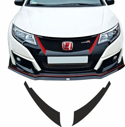Picture of Honda Civic FK2 side Grille overlay Vinyl / Stickers