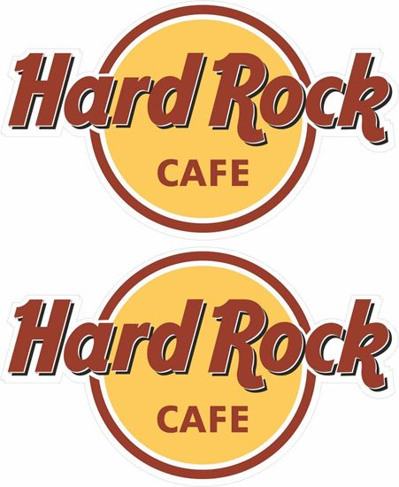 Picture of Hard Rock Cafe Decals / Stickers