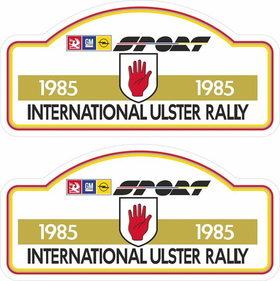 Picture of Opel International Ulster Rally 1985 Decals / Stickers