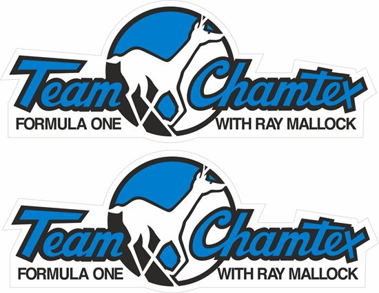 Picture of Team Chamtex Ray Mallcok Decals / Stickers