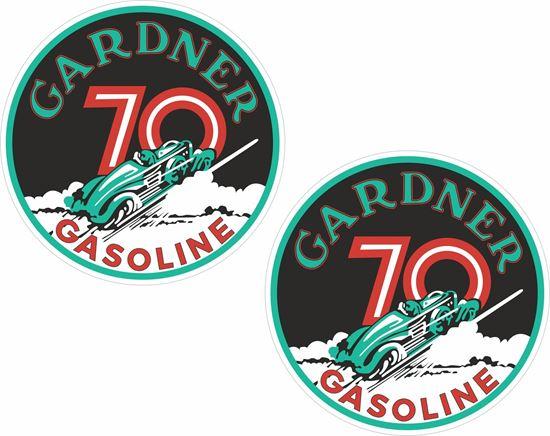 Picture of Gardner Gasoline Decals / Stickers