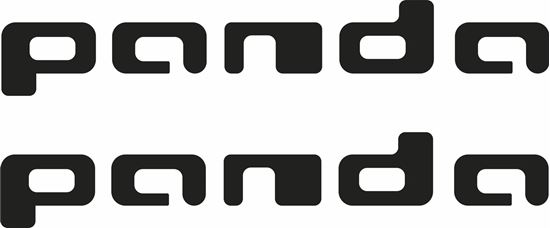 Picture of Fiat Panda Decals / Stickers