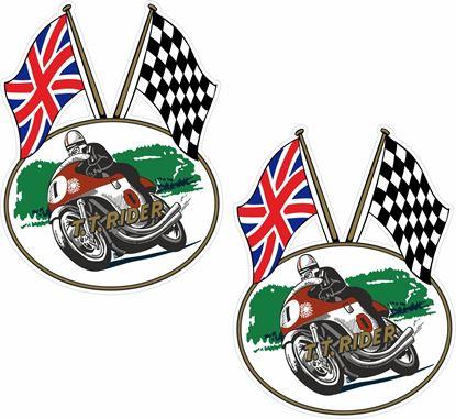 Picture of TT Rider  Decals / Stickers