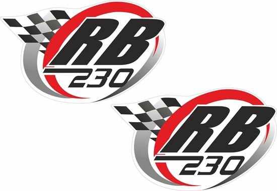 Picture of RB 230 Decals / Stickers