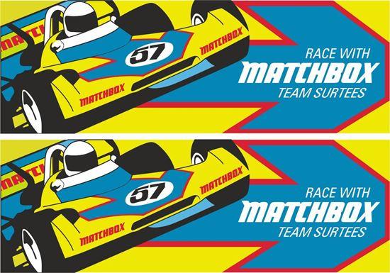 Picture of Matchbox Team Surtees Formula 2 1972 Decals / Stickers