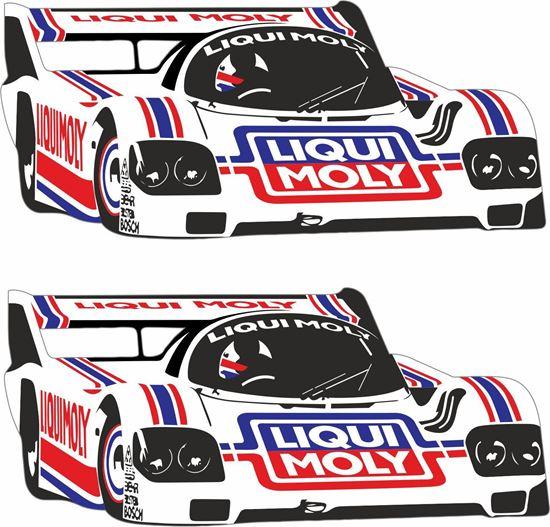 Picture of Group B Liqui Moly Le Mans Porsche 956 / 962 Decals / Stickers