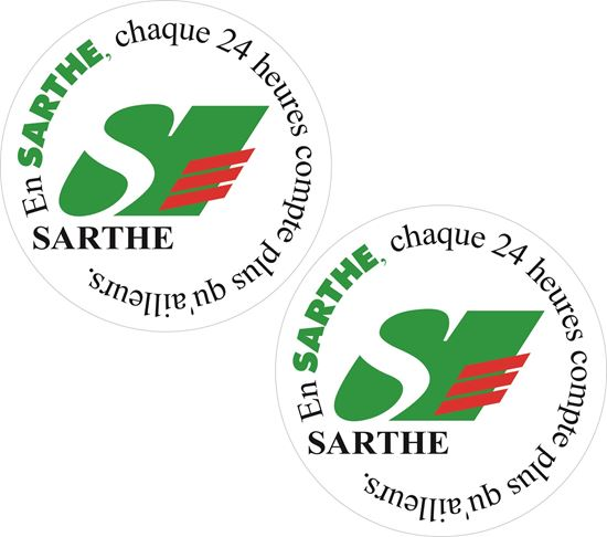 Picture of Le Sarthe Le Mans Decals / Stickers