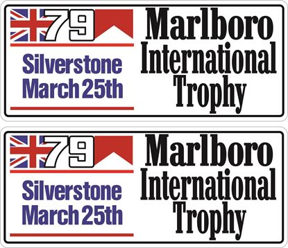 Picture of 1979 Marlboro International Trophy Decals / Stickers