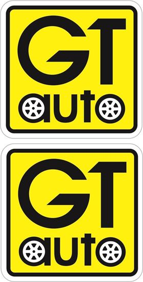Picture of GT Auto Decals / Stickers