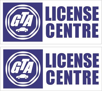 Picture of GTA License Centre Decals / Stickers