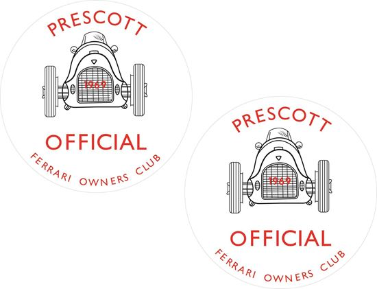 Picture of Prescott owners Club Decals / Stickers