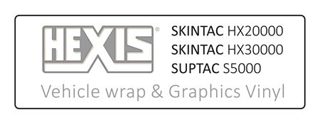 Picture for category Hexis Vehicle Wrap and Graphics Vinyl