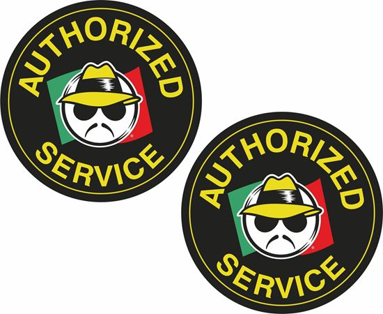 Picture of Authorized Service Decals / Stickers