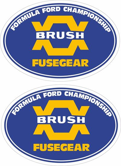 Picture of Formula Ford Championship Decals / Stickers