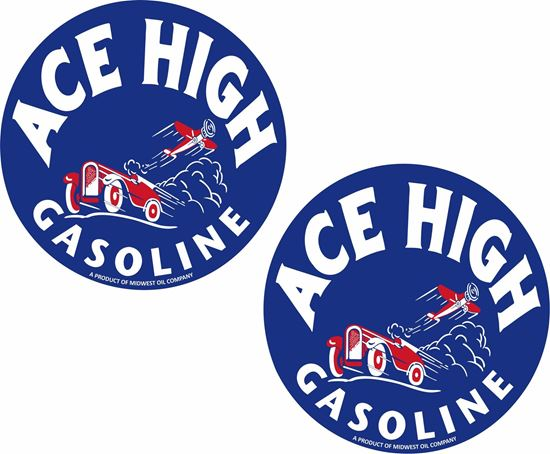 Picture of Ace High Decals / Stickers