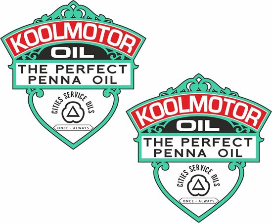 Picture of Koolmotor Oil Decals / Stickers