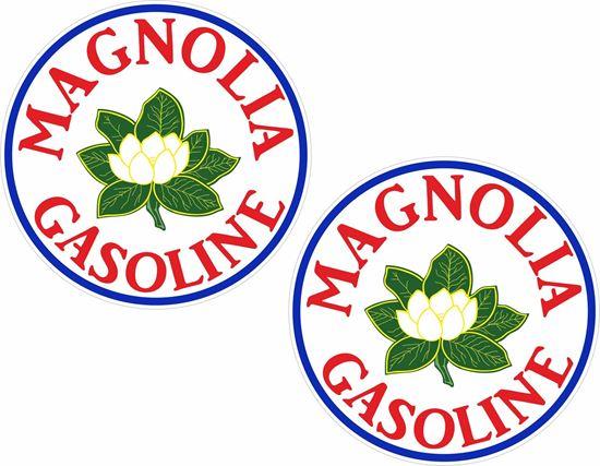 Picture of Magnolia Gasoline Decals / Stickers