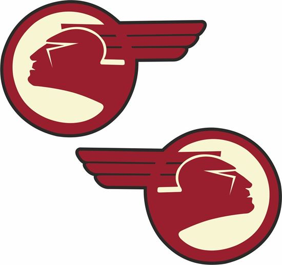 Picture of Pontiac Indian Decals / Stickers
