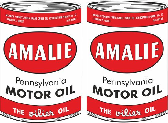 Picture of Amalie Mototr Oil Decals / Stickers