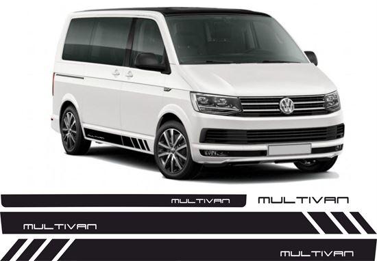 """Picture of VW T5 """"Multivan"""" side & rear Stripes / Stickers"""