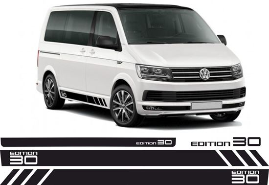 """Picture of VW T5  """"Edition 30"""" side & rear Stripes / Stickers"""