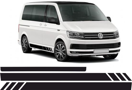 Picture of VW T5 side & rear Stripes / Stickers