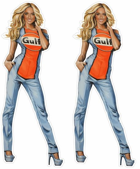 Picture of Gulf Girl Decals / Stickers
