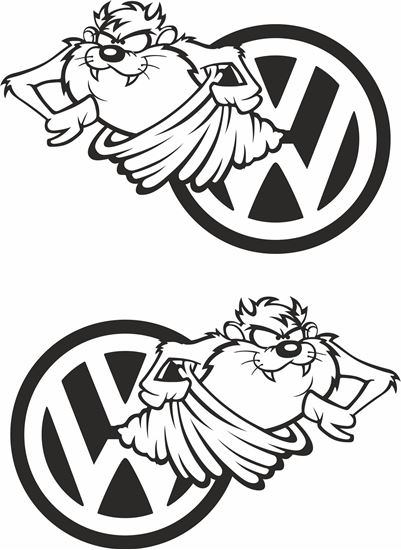 Picture of Taz Decals / Stickers
