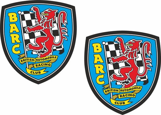 Picture of BARC British Automobile Racing Club Decals / Stickers