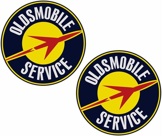 Picture of Oldsmobile Service Decals / Stickers