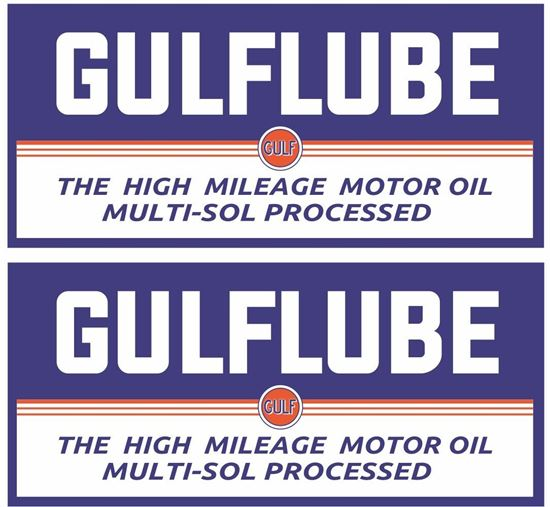 Picture of Gulflube Decals / Stickers