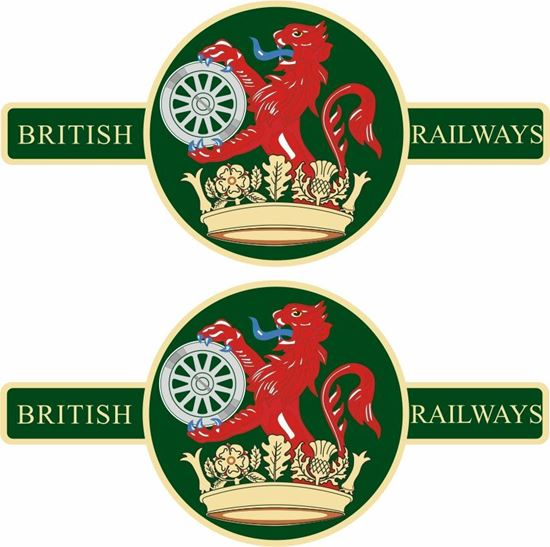 Picture of British Railways Decals / Stickers