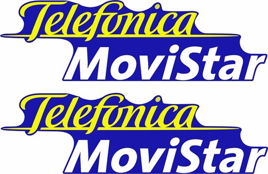 Picture of Telefonica Movistar Decals / Stickers