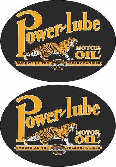 Picture of Power-Lube Decals / Stickers
